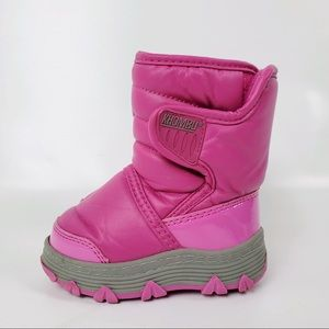 Khombu baby girls winter snow warm Insulated boots